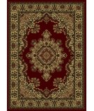 RugStudio presents Radici Usa Castello Series 1191 Burgundy Machine Woven, Good Quality Area Rug